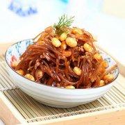 既简单又好吃的一道家常菜——黄豆炒咸菜
