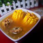 虫草干贝玉米排骨汤的做法
