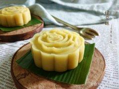 自制绿豆糕——传统端午美食自己做的做法