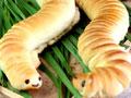 超形象超吓人的毛毛虫面包的做法