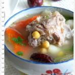 鹰嘴豆羊肉汤的做法