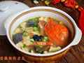 冻豆腐肓蟹煲的做法