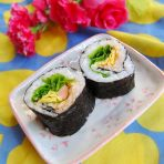 生菜寿司的做法