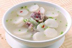 白萝卜炖排骨的功效,白萝卜排骨汤的做法大全