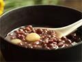 冬日必备粥:红豆+糯米+陈皮