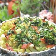 香烤培根花菜的做法