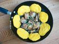 海鱼焖大饼子的做法