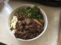 菠菜牛肉块面的做法