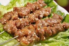 羊肉串的腌制方法/做法,羊肉串图片