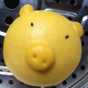 黄金猪猪馒头的做法