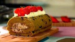 抹茶红豆卷的做法视频