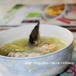 鱼骨白菜汤的做法
