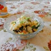 芸豆蛋炒饭的做法
