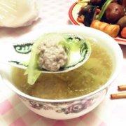 羊肉丸子汤的做法