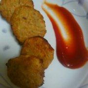 红薯培根饼的做法