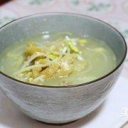 黄豆芽明太鱼汤的做法