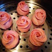 浪漫的玫瑰花馒头的做法