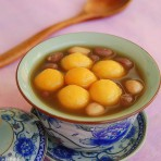 花生红豆小圆子甜汤的做法