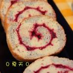 蔓越莓果酱蛋糕卷