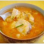 蒜味番茄鱼片汤的做法