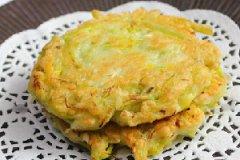 黄花煎饼的做法