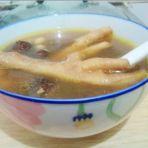 花生红枣鸡脚汤