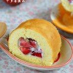 桃子海绵蛋糕卷的做法