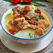 排骨红枣萝卜汤的做法