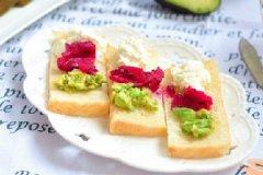 奶油水果三明治的家常做法