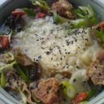 牛肉汤泡饭