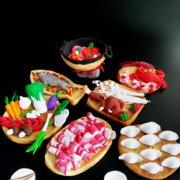 火锅年夜饭翻糖饼干的做法