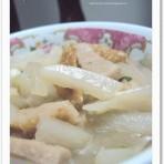 萝卜煮潮州肉卷的做法
