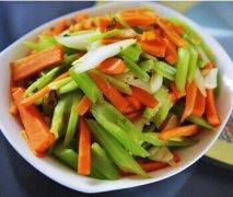 【芹菜胡萝卜的做法大全】芹菜胡萝卜的营养价值_芹菜胡萝卜的功效