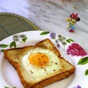 土司太阳蛋的做法
