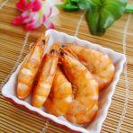 微波炉盐焗虾的做法