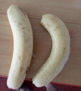 香蕉中间是黑的能吃吗