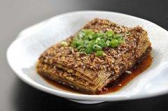 麻辣豆腐皮的做法,豆腐皮的做法大全