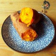 美味烤番薯的做法