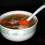 青红萝卜排骨汤的做法