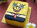 海绵爸爸生日蛋糕的做法