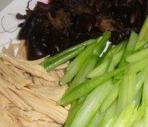 【凉拌腐竹芹菜】凉拌腐竹芹菜的做法_凉拌腐竹芹菜的营养价值