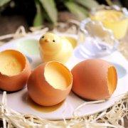 原壳鸡蛋布丁的做法