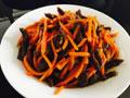胡萝卜炒牛肉的做法