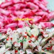 抹茶蔓越莓牛轧糖的做法