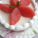 西柚芝士蛋糕的做法