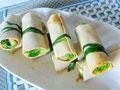 豆皮菜卷的做法