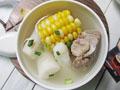 山药玉米龙骨汤的做法