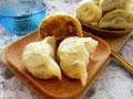 苣荬菜鸡蛋水煎包的做法