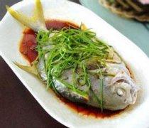 【清蒸鲳鱼】清蒸鲳鱼的家常做法