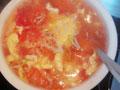 西红柿炒蛋汤的做法